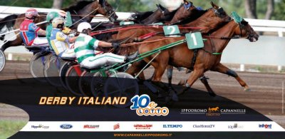derby italiano trotto
